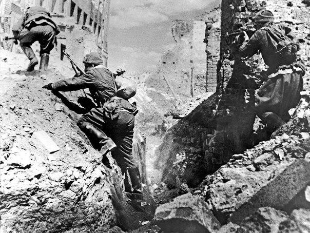Подземная война в Сталинграде