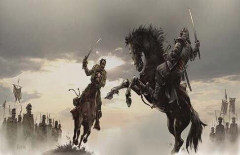 Черногорский богатырь против самурая