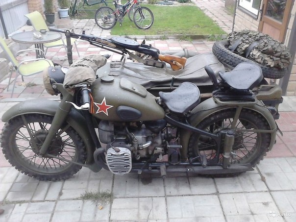 М-72 — советский тяжёлый мотоцикл