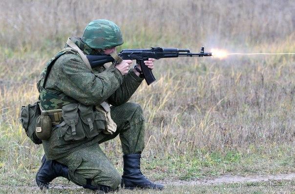Стрельба из АК-74.Советы военных.