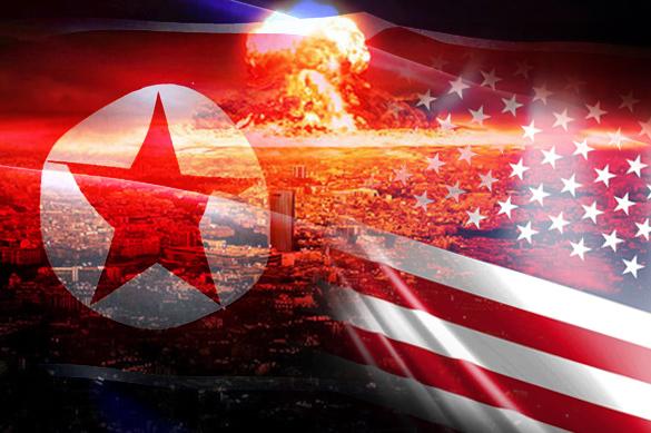 От отчаяния США пытаются уничтожить мир. сша кндр