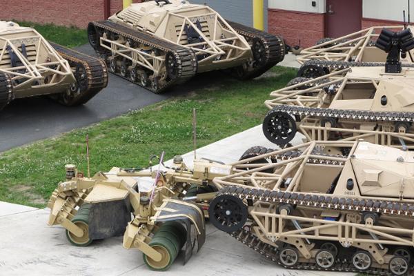 Роботы на службе МВД. робот сша