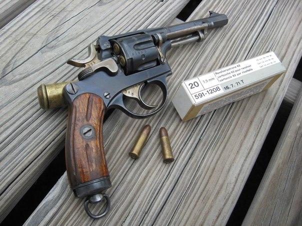 Schmidt M1882 (револьвер Шмидт обр. 1882 года)