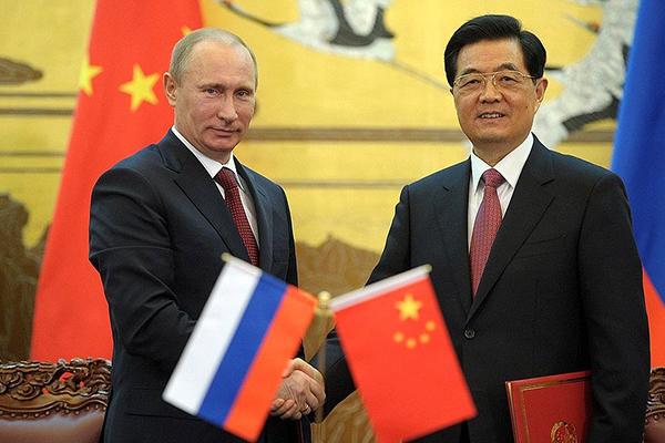 Россия и Китай враги для США и Японии. 1