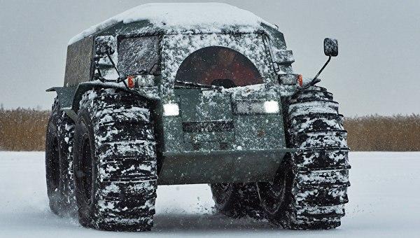 Арктические С-400 и вездеходы