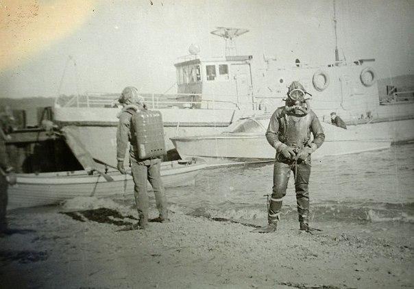 Советские водолазы-разведчики