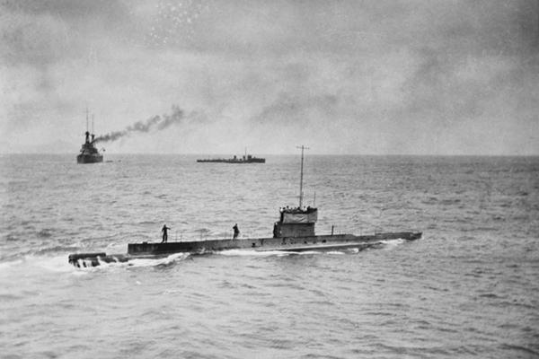 Ушедшая на задание 100 лет назад субмарина вернулась. 1
