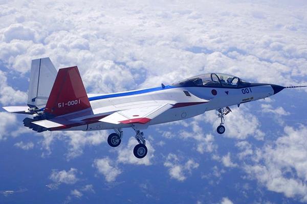 Японский Х-2 заткнет за пояс F-22. 1