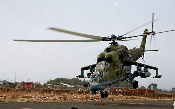 Десять фактов о вертолетах Ми -24