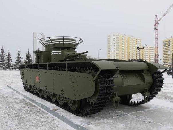 На Урале воссоздали уникальный пятибашенный танк Т-35. На Урале воссоздали уникальный 1