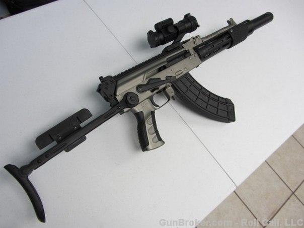 Модель помповой винтовки Par-1 Pump AK47. Румынский автомат Калашникова. Модель помповой винтовки Par-1 3
