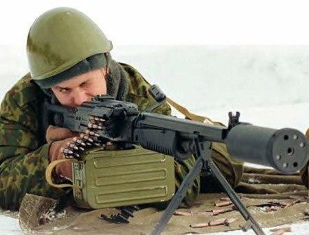 Пулемет АЕК-999: бесшумный