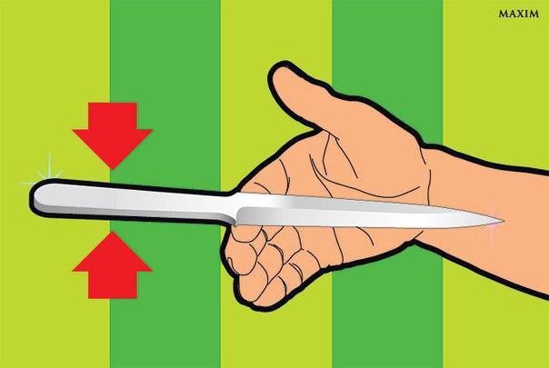Как метать нож: 4 простых секрета, заставляющие лезвие вонзиться в цель!.