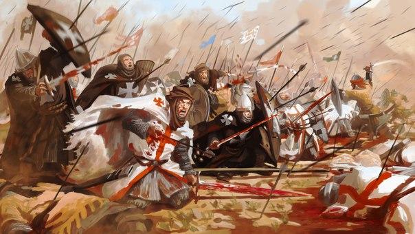 Кровавый террор крестоносцев