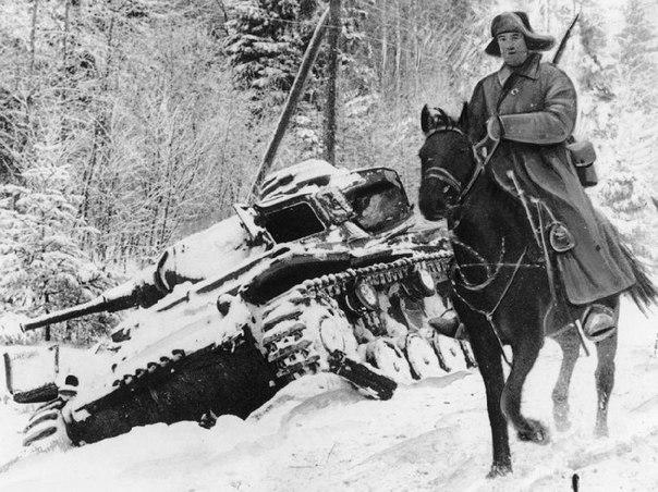 Советские кавалеристы в годы Великой Отечественной