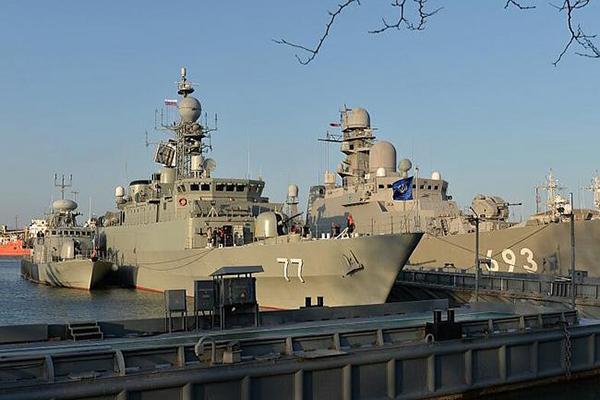 Символ иранского флота выбросило из Каспия. 1