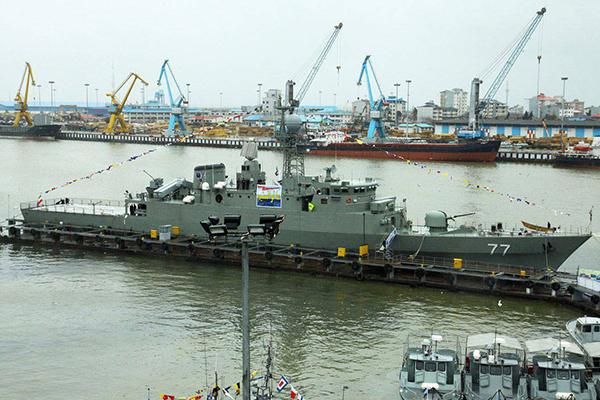 Символ иранского флота выбросило из Каспия. 2