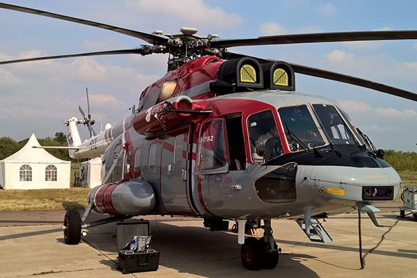 Потомок вертолета Ми-8 испытывают на космический холод. 1
