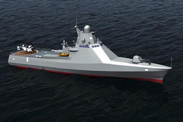 Патрульный «Василий Быков» готов топить эсминцы. 1