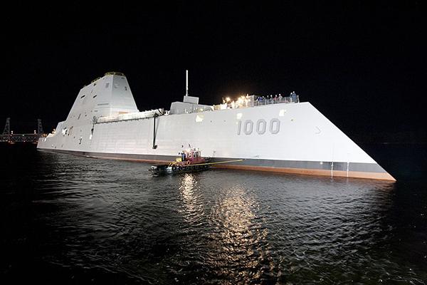 Штатовский эсминец