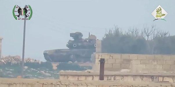 Т90 справился с американским противотанковым комплексом