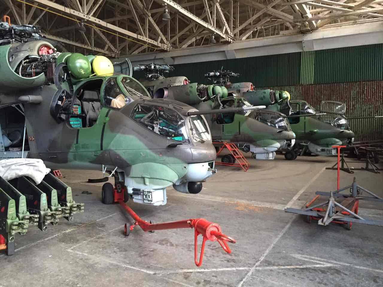 Как США распродают советскую технику: Ми-24 и Су-25. 14535.jpeg