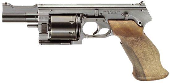 Револьвер Mateba MTR-8 (Италия)