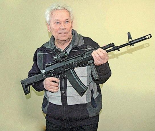 АК-12 - автомат Калашникова пятого поколения.