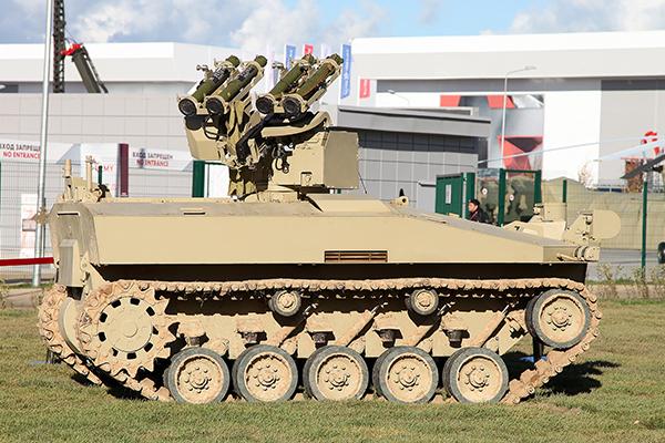 Российского боевого робота готовят для пустыни. 2