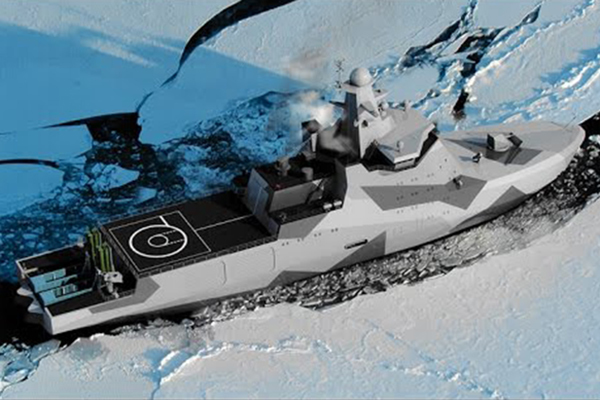 Россия и США милитаризируют Арктику. 4