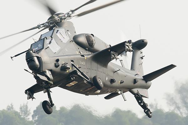 Китайские ВВС пугают своими возможностями. вертолет1