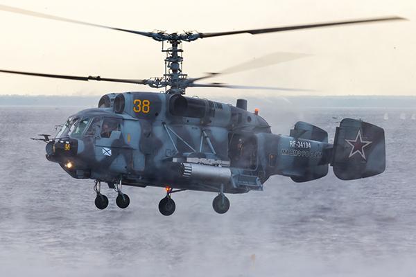 Вертолеты Ка-29 и Ка-27М получили невиданные ранее возможности. 1