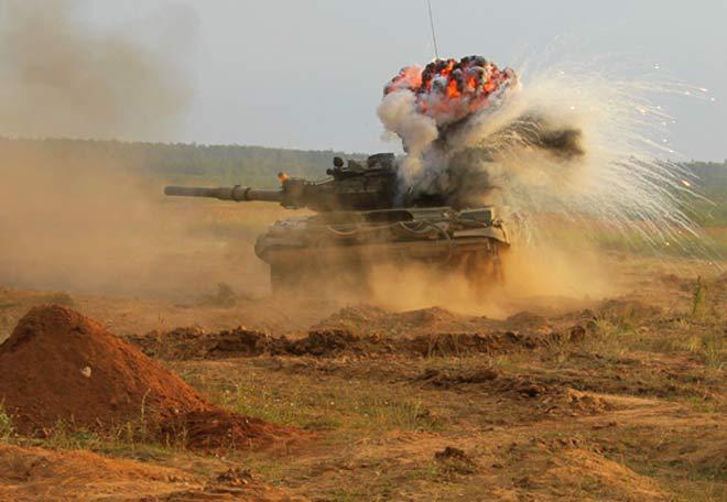 Танковый бой. ФОТО. 14661.jpeg