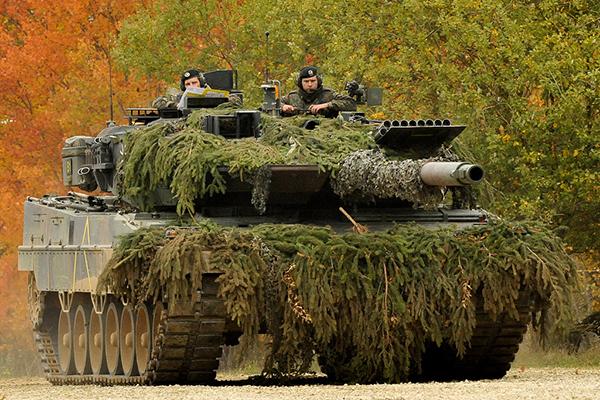 Германская активная защита проигрывает израильской. 1
