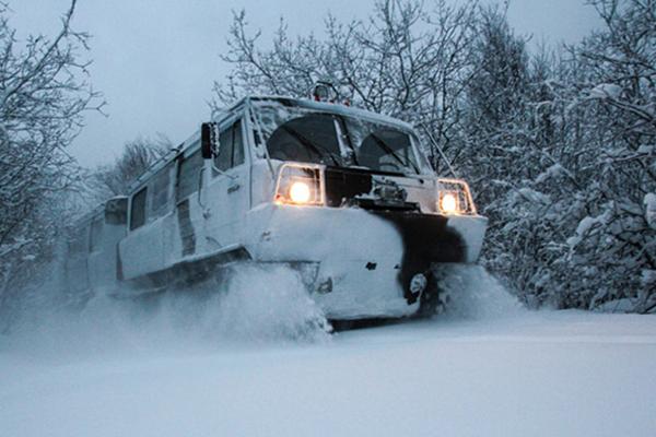 Арктический снегоход «Алеут