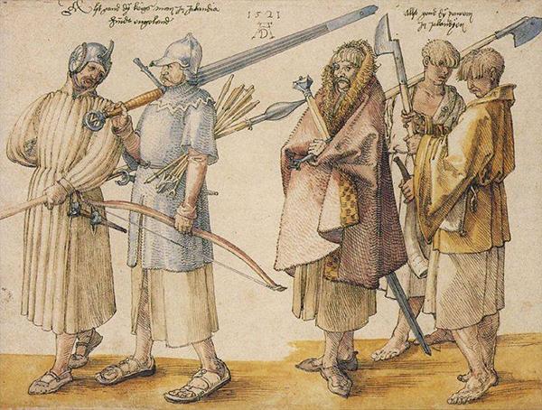 Стратегическое оружие Средневековья - катана и клеймор. 2
