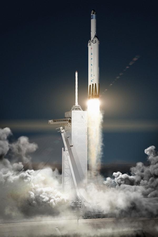 Американская ракета Falcon Heavy все еще пытается взлететь. 2