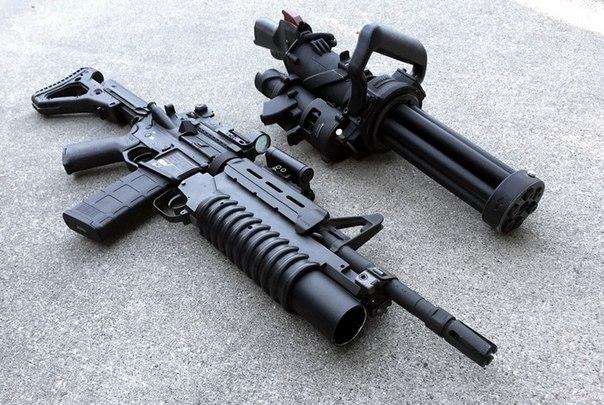 XM556: компактный и по-настоящему переносной вариант минигана M134