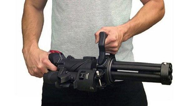 XM556: компактный и по-настоящему переносной вариант минигана M134. XM556: компактный и 1