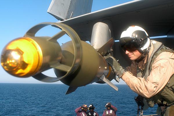 Американская ГБня: новая бомба работает в режиме Глубокого Бурения. 1