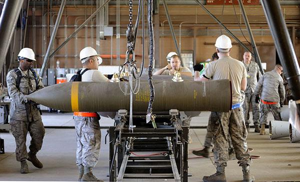 Американская ГБня: новая бомба работает в режиме Глубокого Бурения. 2