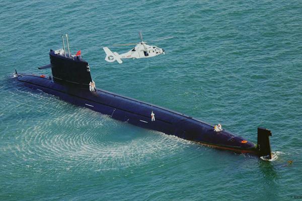 Китайские АПЛ играют в океане в прятки. 1