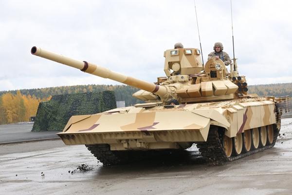 Лучший танк в мире Т-72 теперь стал