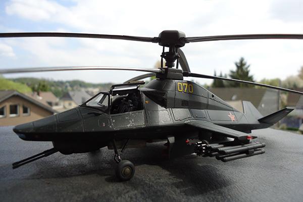 Призрачный Ка-58 неожиданно материализовался. 1