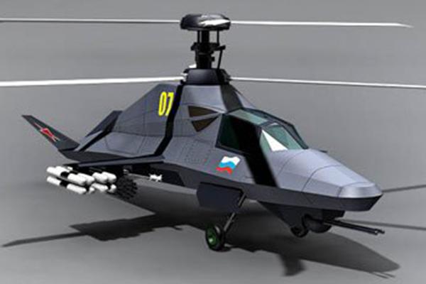 Призрачный Ка-58 неожиданно материализовался. 2