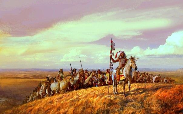 Индейцы едва не победили ковбоев на Диком Западе