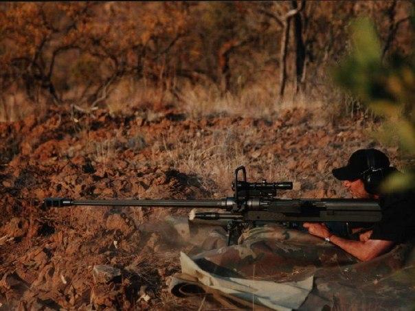 Снайперская винтовка Mechem NTW-20 (ЮАР)