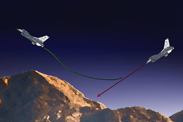F-35 получат систему уклонения от столкновения с землей. 2