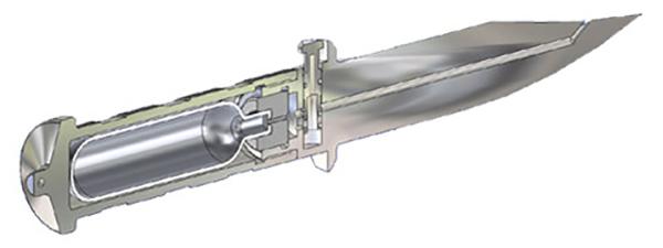 Газовый нож разрывает жертву на части и замораживает. 3