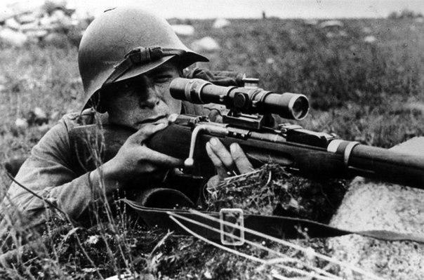 50 самых результативных советских снайперов Великой Отечественной Войны